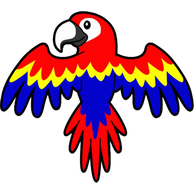 cartoon_parrot
