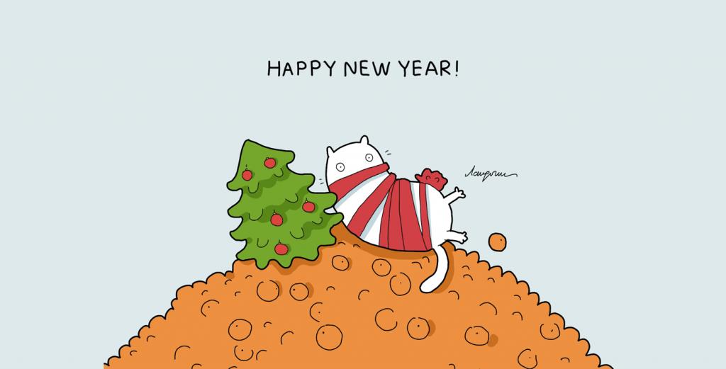 Стихи поздравления с новым годом учителю от детей