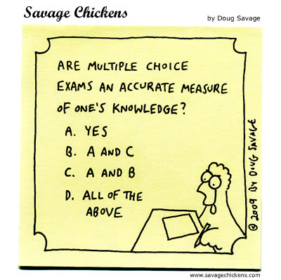 critical thinking multiple choice questions